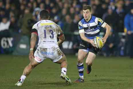 Sale Sharks - Aviva  Premiership Rugby Tickets Sharks v Bath on 17 April - Save 50%