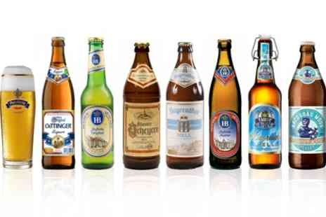 Sim Buy - Case of 23 Mixed German Beers plus Beer Glass With Free Delivery - Save 0%