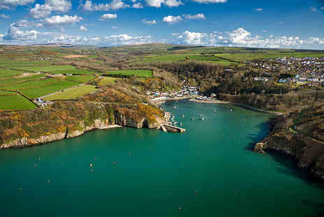 Fishguard Holiday - Three or Four Nights midweek or weekend Pembrokeshire coast caravan break for up to 6 people - Save 36%