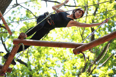 Marwell Activity Centre - Half day activity session with archery and an aerial adventure - Save 54%