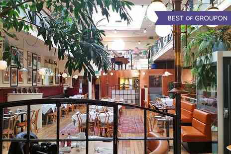 Arlingtons Brasserie - Two Course Meal for Two with Wine - Save 47%