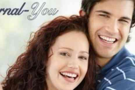 Eternal You - LED Teeth Whitening Plus Stain Removal - Save 64%