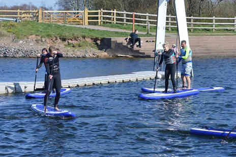 Wakelake - Introductory stand up paddleboarding session for one  Save 59%
