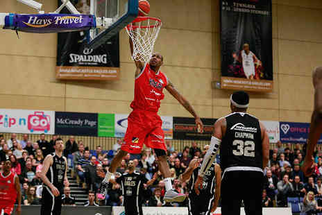 Leicester Riders - Adult ticket to see the Leicester Riders in a choice of two games including a burger and a matchday programme - Save 0%