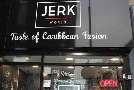 The Jerk Co - Pizza Cone or Jerk Chicken Plus Sides for One or Two  - Save 54%