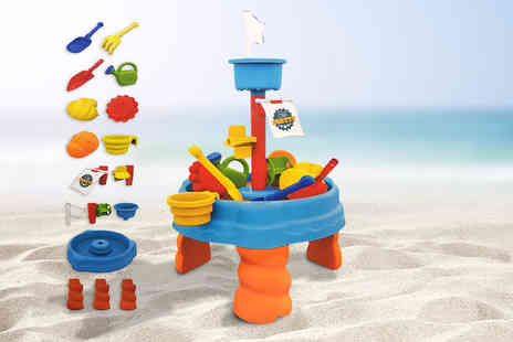 Funky Buys - 17 piece childrens sand and water activity play table set - Save 0%
