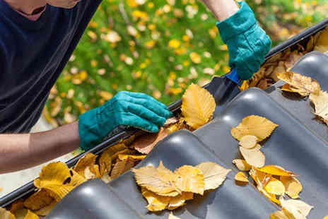 Infinity Cleans - Home gutter cleaning service - Save 75%