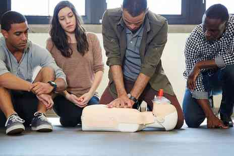 Compact Learning - Emergency First Aid at Work Level 2 or 3 Course for One or Two - Save 0%