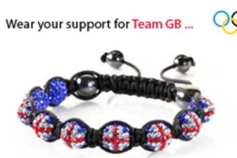 Shamballa UK - Union Jack Bracelet Shamballa style - Save 83%