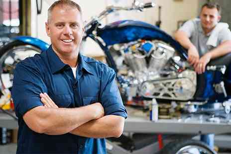 Colins MOT & Service - Motorcycle MOT or Motorcycle Service or Both - Save 53%