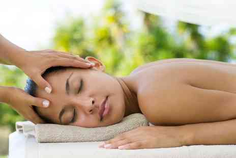 Hideaway Beauty - 45 Minute Indian Head and 30 Minute Back, Neck and Shoulder Massage - Save 61%