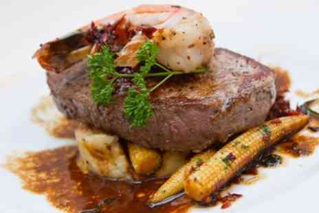Surf and Turf Sheffield - Two Course Meal for Two or Four  - Save 55%