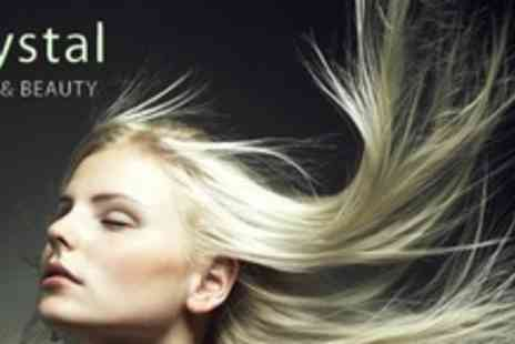Crystal Hair & Beauty - Full head of highlights, cut and blow dry - Save 52%
