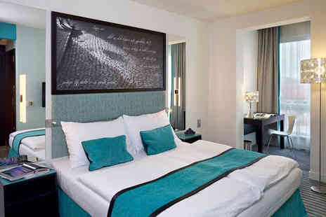 Red & Blue Design Hotel Prague - 4* stay for 3 nights in an Executive Room - Save 70%