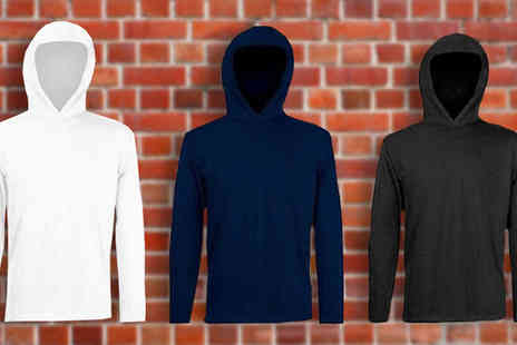 The Beauty Retreat - Fruit of the Loom T Shirt Style Hoodies  Available in three Pack - Save 80%