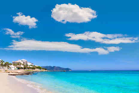 Cheap Cost Holidays - Three, Five or Seven nights all inclusive Mallorca break with return flights - Save 26%