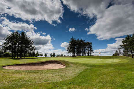 Oldmeldrum Golf Club - 18 holes of golf and 40 range balls for one  - Save 55%
