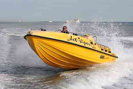 Into the Blue - 007 James Bond style powerboat experience  - Save 75%