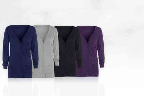 Stitch Trading - Two pack of jersey boyfriend cardigans - Save 55%