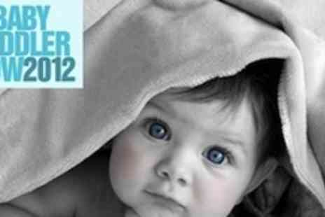 UK Baby & Toddler Show - Ticket to UK Baby - Save 75%