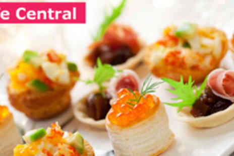 Cafe Central - 2 hour canape workshop with tea and cakes - Save 75%