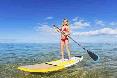 Baker Academy - 60 Minute Paddle Boarding Class For One or Two - Save 0%