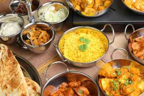 Spice of India - Two Course Indian Meal with Rice and Naan for Two or Four - Save 0%