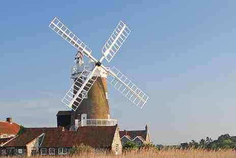 Cley Windmill - Three Course Dinner in a Windmill for Up to Four  - Save 20%