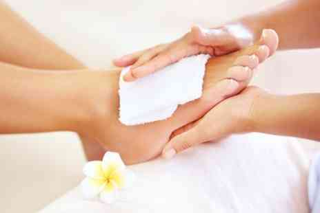 Rejuvalase beauty - 60 Minute Reflexology Session  - Save 50%