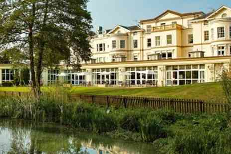 Cheltenham Park Hotel -  Stay For One or Two With Breakfast, Dinner, Wine, Spa Treatment and Leisure Access  - Save 0%