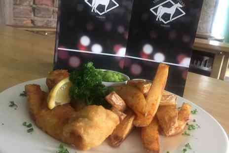 The Hambletonian - Beer Battered Fish and Chips for Two or Four - Save 50%