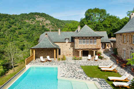 Chateau de Longcol  - A hidden delight off the beaten track in the stunning Aveyron valley. - Save 47%