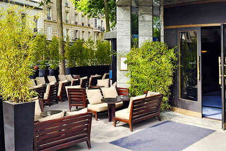 Hotel Square  - Contemporary style in Paris 16th arrondissement - Save 41%
