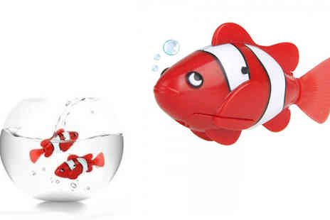 Rose River - One or Two Robotic Clown Fishes - Save 67%