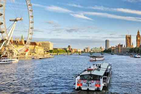 City Cruises PLC - Two Course Thames Lunch Cruise for 2  - Save 23%