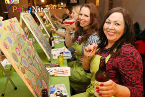 Paint Nite - Paint Nite Painting Party Ticket - Save 44%