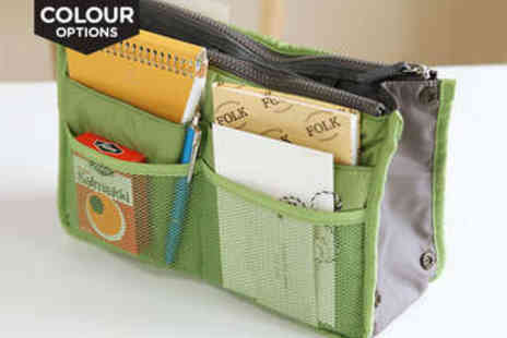 LivingSocial Shop - Slimline Handbag Organiser, Delivery Included - Save 88%