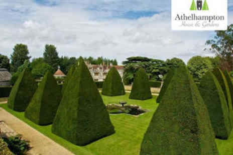 Athelhampton House & Gardens - Cake and Tea or Coffee with Admission for Two - Save 54%