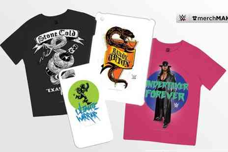 Merch Maker - £10 or £20 to Spend on Official WWE Merchandise - Save 50%