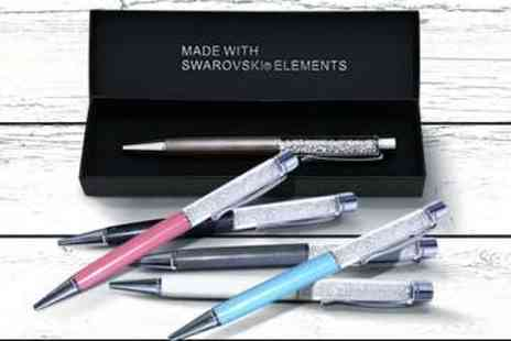 LivingSocial Shop - Pen with Swarovski Elements Crystals - Save 53%