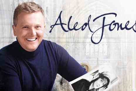 Aled Jones Tour - Tickets to Aled Jones Cathedral Tour On 6 May to 2 July - Save 0%