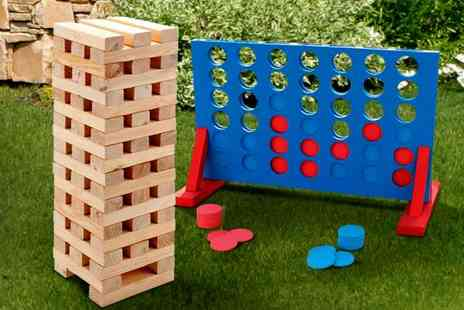 LivingSocial Shop - Two Giant Outdoor Game Sets - Save 67%