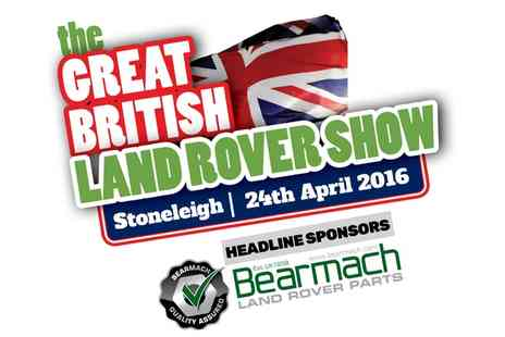 The Great British Land Rover Show - The Great British Land Rover Show Tickets for One, Two or Four - Save 70%
