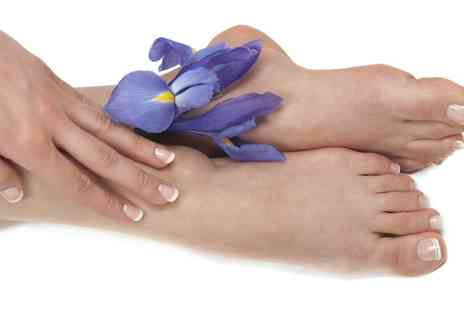 The Beauty Room - Shellac Manicure or Pedicure or Both - Save 0%