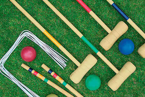 LivingSocial Shop - Wooden Croquet Set - Save 50%