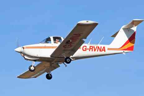 Cheshire Flying Services - 30 or 60 Minute Flying Lesson for One with Ravenair  - Save 0%