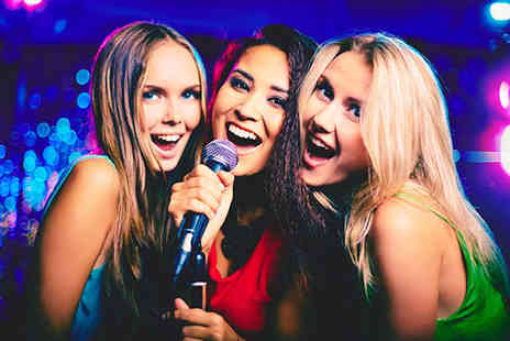 KTV Free Seasons - Private karaoke room hire for up to five with a sharing platter and drinks with Free Seasons  - Save 71%