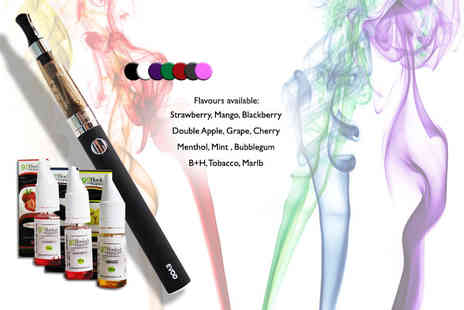 Toys Wizard - EVOD eGo e cigarette pen with three eLiquids - Save 71%