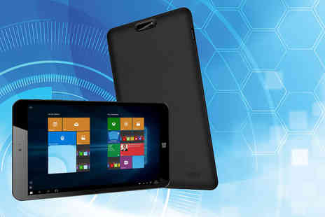 Hedoo -  8 Inch Windows 10 Intel quad core tablet with 32GB storage and HD IPS display - Save 63%