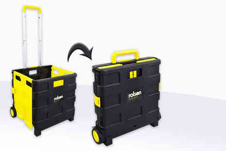 Rolson Tools - A folding boot cart organiser with a capacity of up to 25kg - Save 47%
